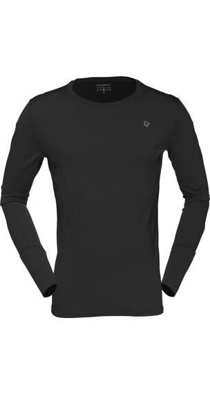 Norrøna Wool Baselayer round Neck Men Caviar